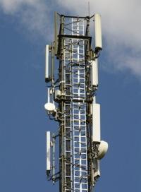 Ein typischer Mobilfunkmast