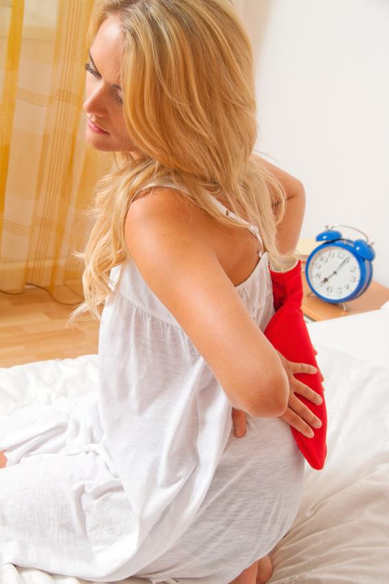 Rückenschmerzen sind häufig die ersten Vorboten des Burnout