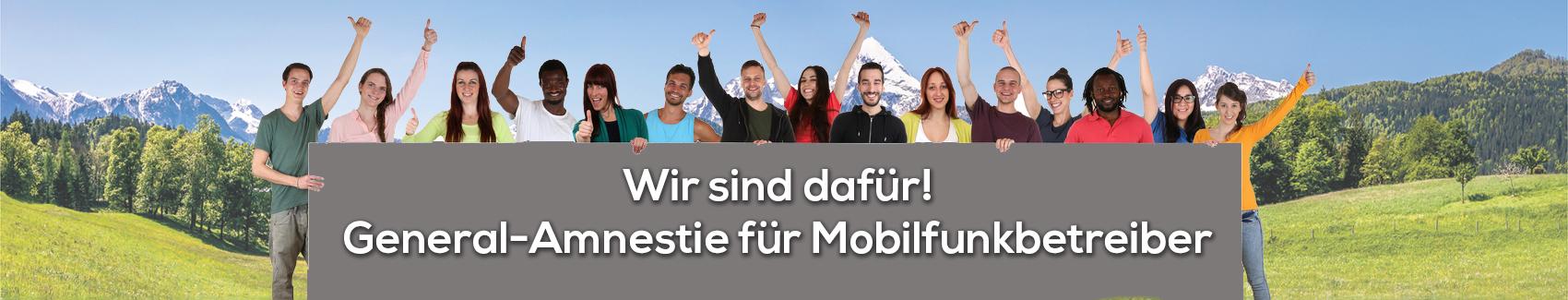 Generalamnestie für Mobilfunkbetreiber