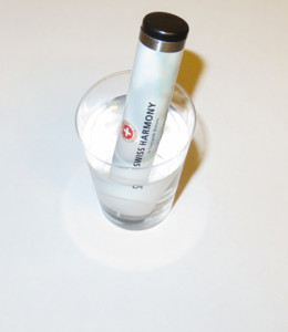 Water Sample with the Mini-WaterTuner from Swiss Harmony