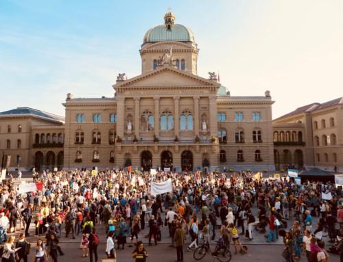 Tausende demonstrierten gegen 5G